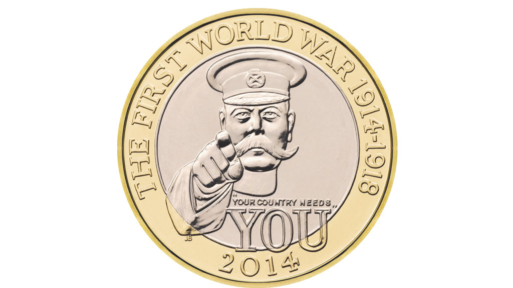 bluebells  lord kitchener and a cyclist  new coins for 2014  u2013 channel 4 news