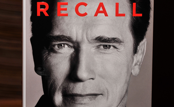 "Arnold Schwarzenegger's New Book ""Total Recall"" Is Released For Sale"