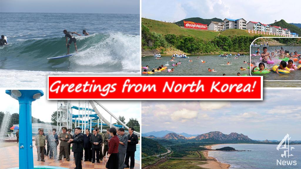 North Korea Hopes Surf Tour Leads To Tourism Boom