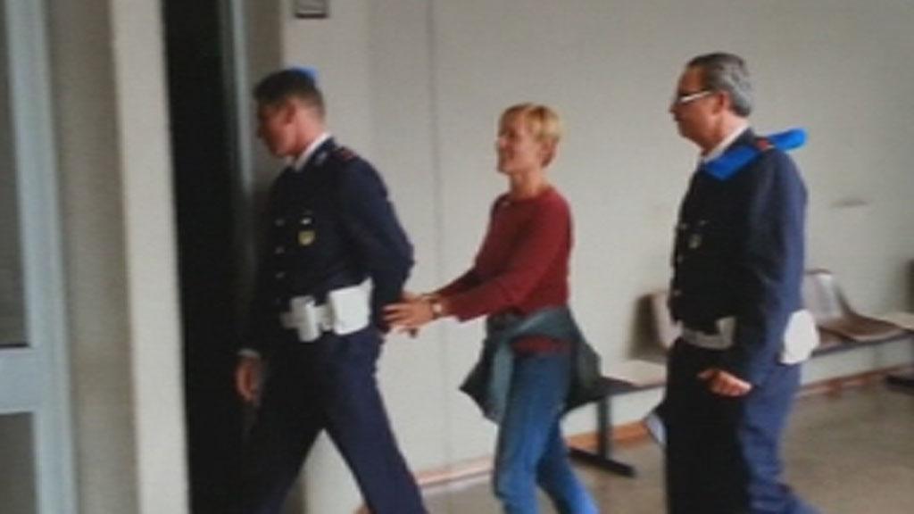 Italian Killer Nurse Smiles As She Enters Court