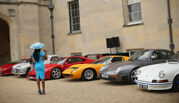 The World's Finest And Most Expensive Cars Are Showcased At The Salon Prive Garden Party