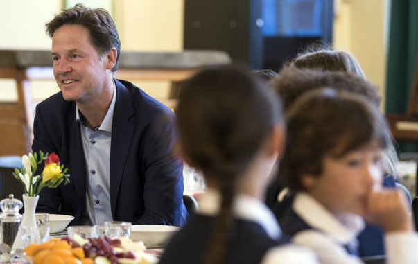 Deputy Prime Minister Launches Free School Meals