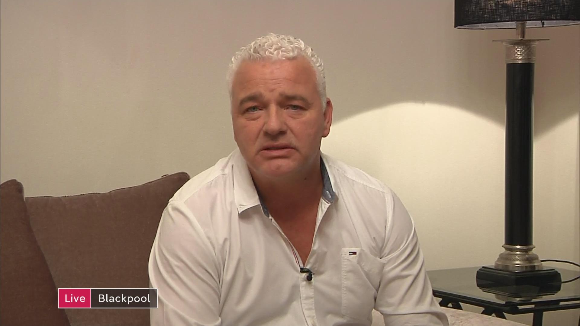 Ex-footballer Paul Stewart