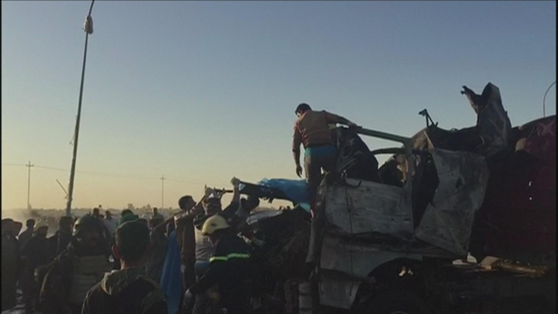 Truck bomb in Iraq