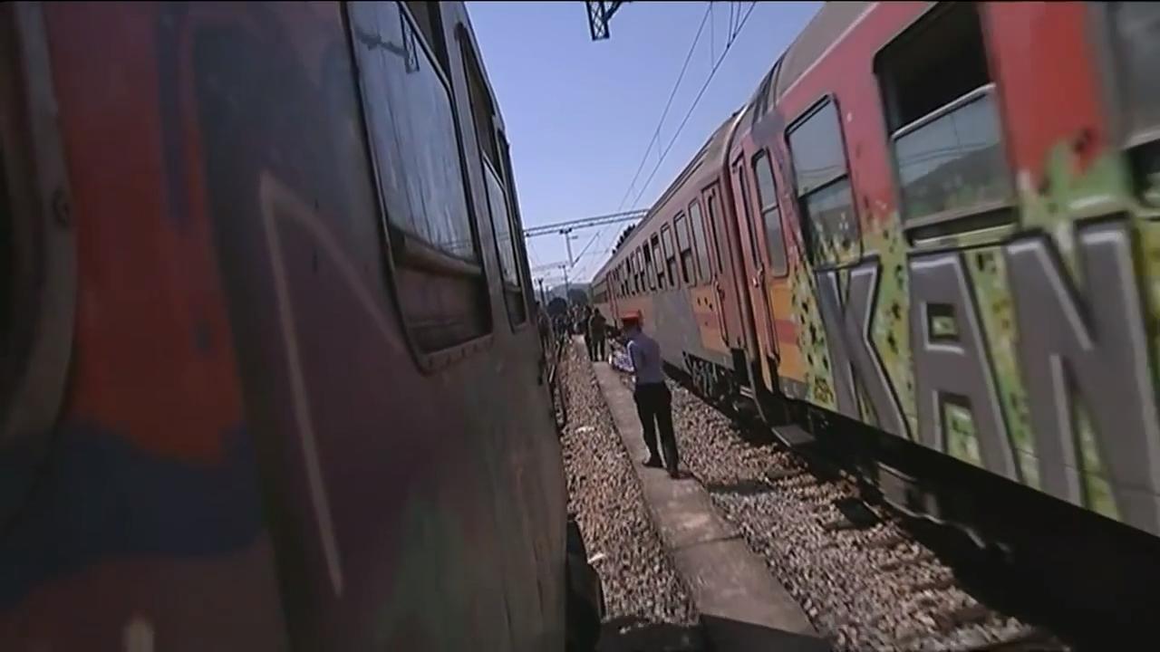 Train in Macedonia