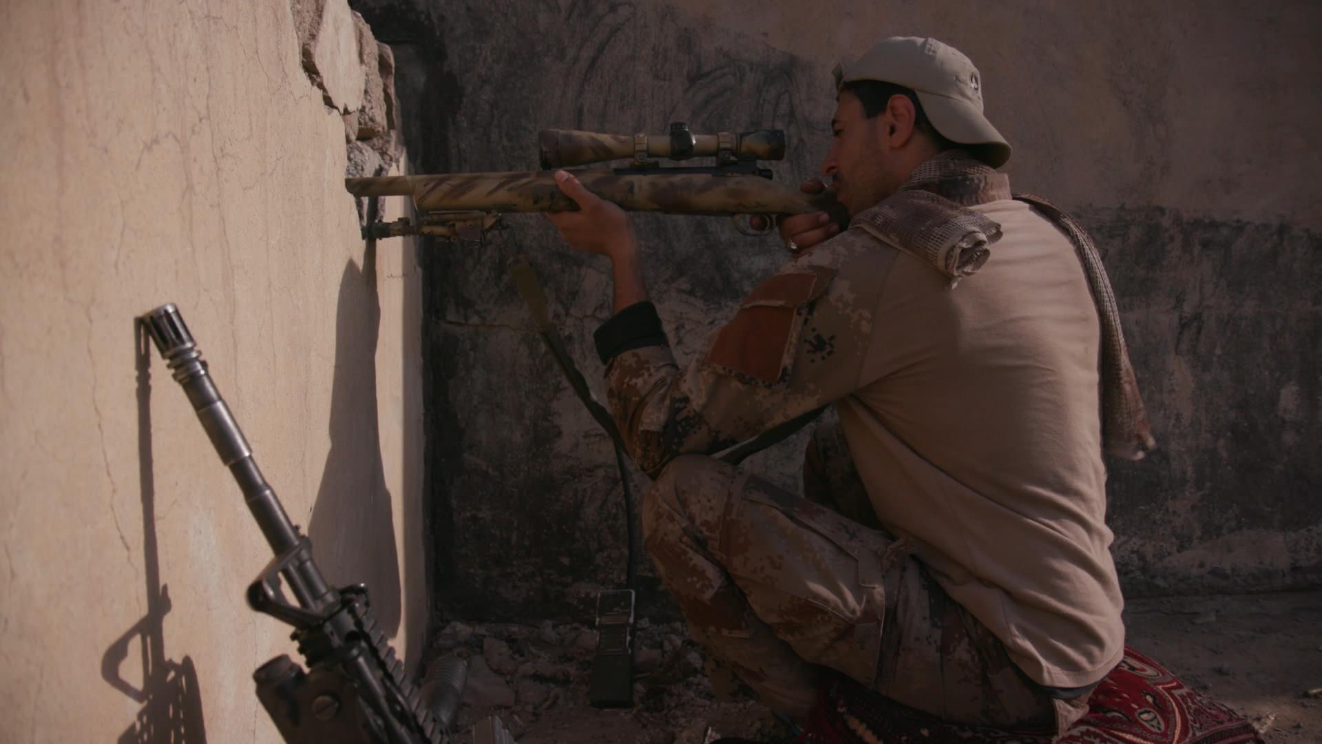 Gunman in Mosul