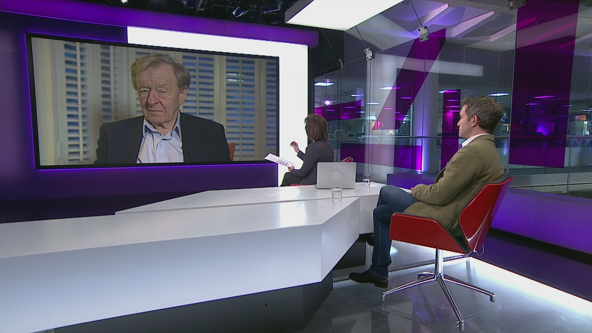 Lord Dubs and Douglas Murray