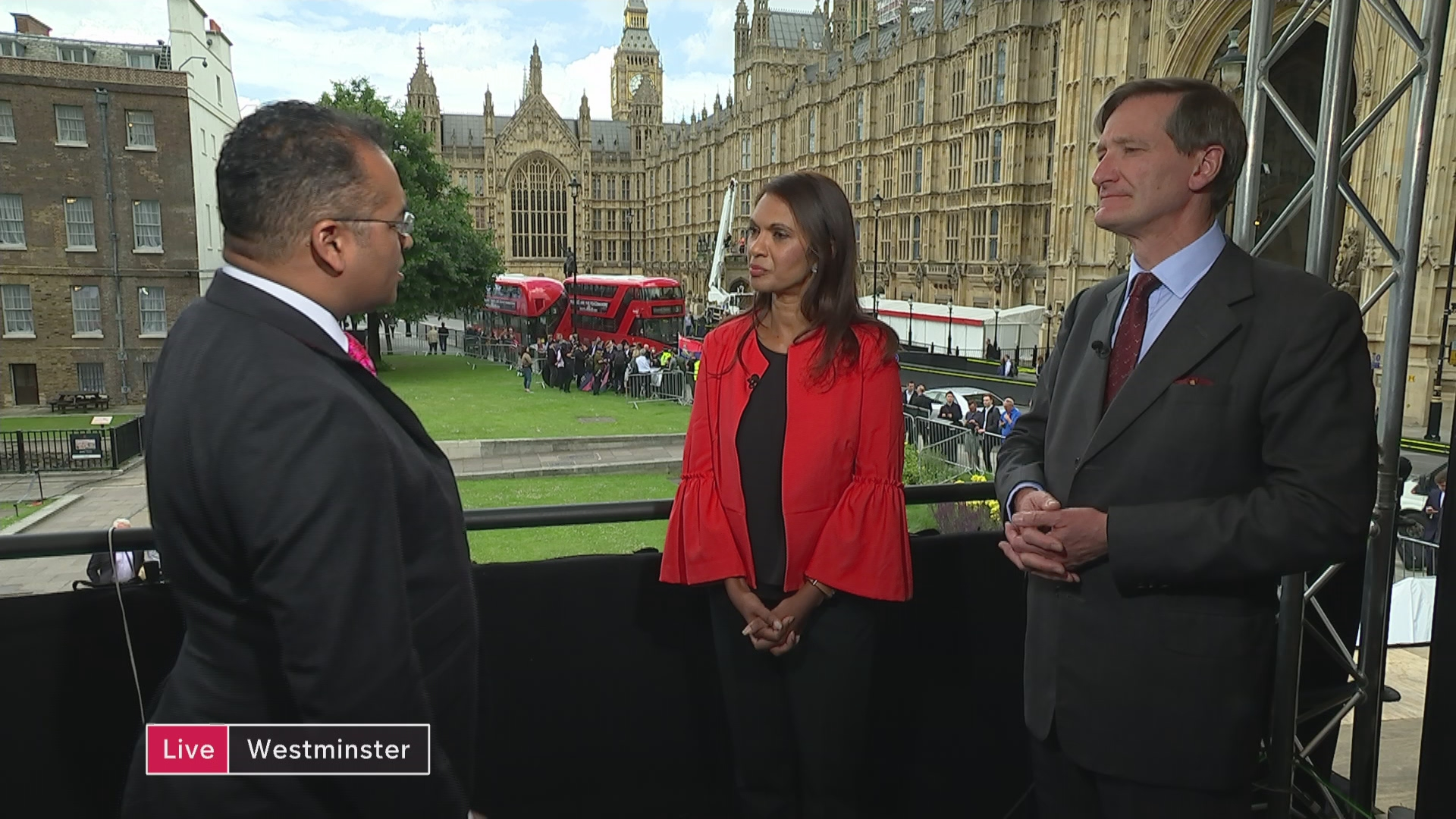 Dominic Grieve and Gina Miller