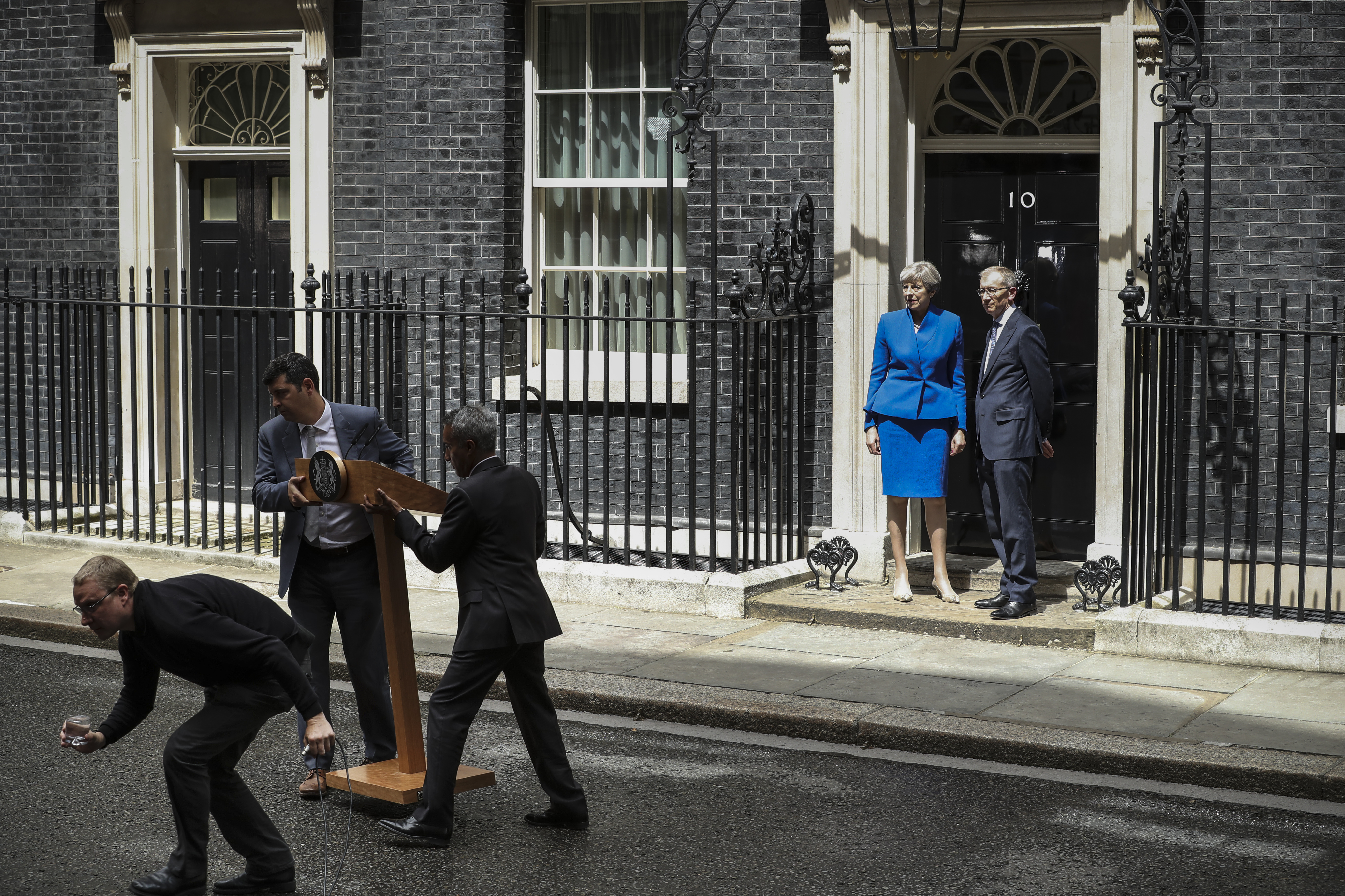 United Kingdom headlines reflect election drama