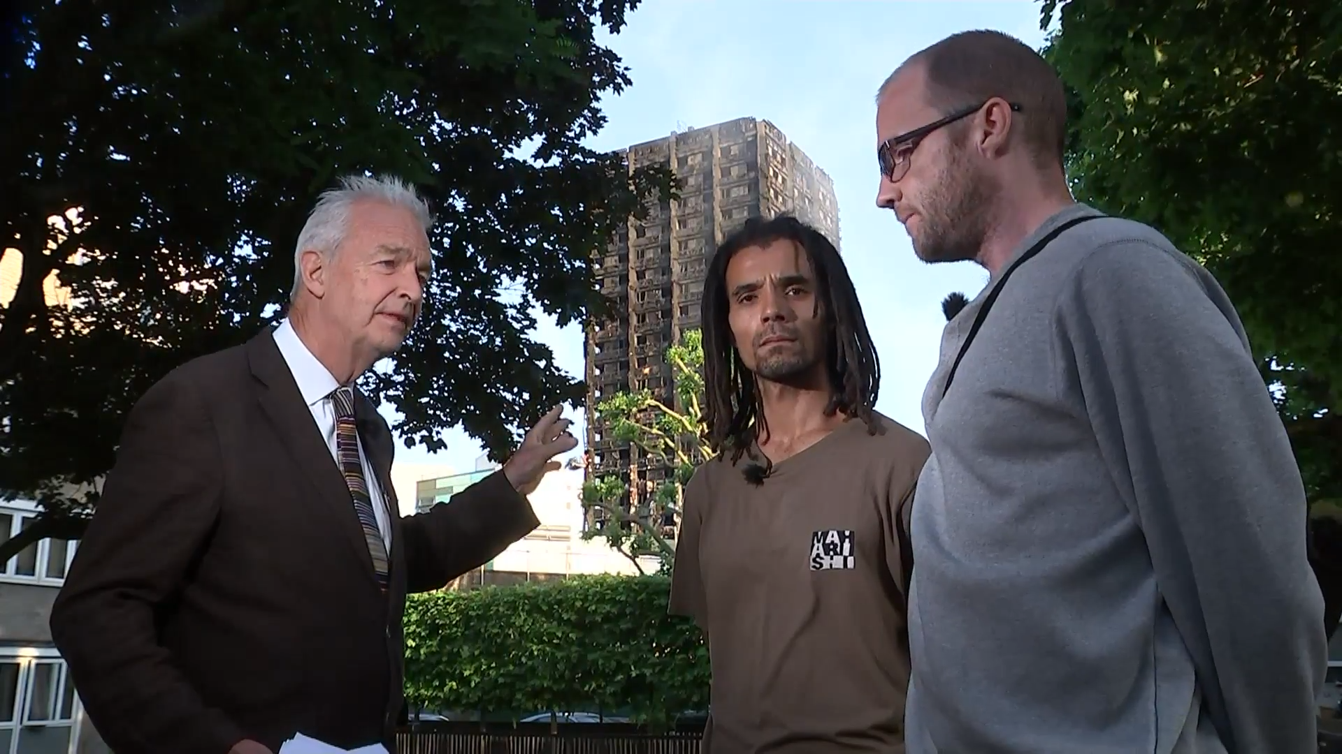 MOBO award-winning musician and writer Akala and local resident Joe Delaney