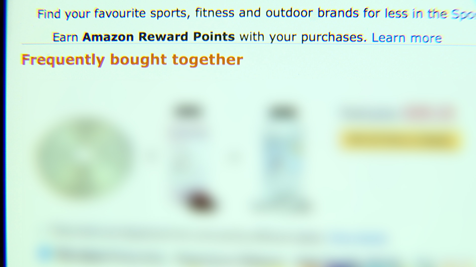 Amazon's 'frequently bought together' section suggests materials to build a bomb